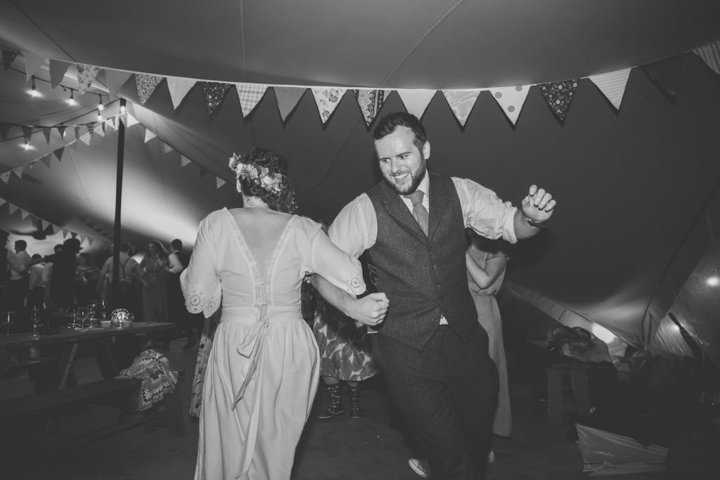 First Dance in Hybrid Tent