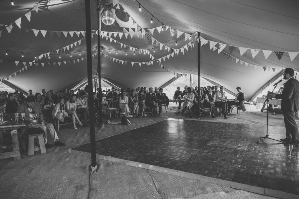 Marquee Wedding in Yorkshire Dales
